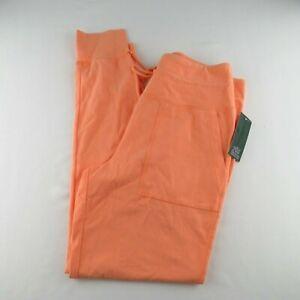 Wild Fable Women's High-Waisted Pocket Leggings Size Medium - Orange