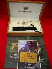 BOX FOR MONTEGRAPPA COSMOPOLITAN AFRICAN SOLID GOLD 18k LIMITED EDITION *NO PEN*