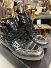Alejandro Ingelmo Tron Hightop Gunmetal Sneakers Men's Size 10 EUR 43