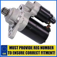 VW GOLF MK6, BEETLE EOS PASSAT TOURAN JETTA CADDY 1.2 1.4 1.6 2.0 STARTER MOTOR