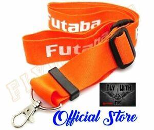 FUTABA Adjustable NECK STRAP Carrying RC Transmitter ORANGE FOR Futaba Radio