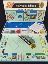 Monopoly Authorized Hollywood Edition Collectible Board Game Pieces Sealed