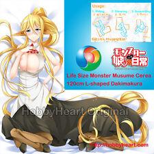 New - Life-Sized L-shaped Cerea Monster Musume Dakimakura Body Pillow Cover Z008