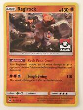 New ListingRegirock - 53/111 - Pokemon League Promo Sun Moon Pokemon Reverse Holo Foil Card