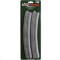 Kato 2-250 Rail Courbe / Curve Track R790 22.5° 4pcs - HO