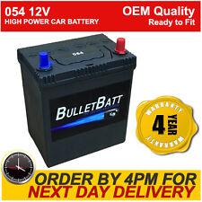 054 BulletBatt Car Battery - Heavy Duty High Power Next Day Delivery