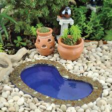 Miniature Dollhouse Fairy Garden - Garden Pond Small - Accessories
