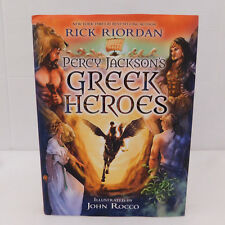 Percy Jackson's Greek Heroes by Rick Riordan 2015 Illustrated by John Rocco HB