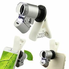 Universal 65X Optical Zoom LED Camera Microscope Magnifier Lens For Cell Phone