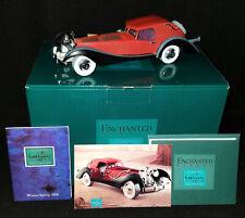 NIB WDCC Disney CRUELLA'S DE VIL CAR 101 Dalmatians w/ COA Papers Post Card NEW