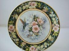 ROYAL DOULTON THE RIVOLI HUMMINGBIRD PLATE