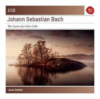 Janos Starker - Bach: 6 Cello Suites Bwv 1007-1012 - Sony Classical Masters [CD]