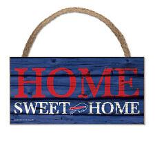 NFL Buffalo Bills Home Sweet Wood Sign Holzschild Holz Wandschmuck Deko