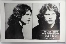 """Jim Morrison Poster Board Print 1967 New Haven Arrest Mug Shot - 14"""" x 22"""""""