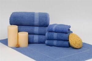 Wholesale Lot of  300 Blue Wash Cloths by 1888 Mills Dependability 1888 Mills