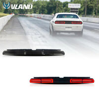 VLAND LED Tail Lights For Dodge Challenger 2008-2014 Smoked Rear Lights Assembly