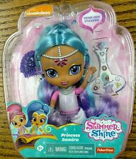PRINCESS SAMIRA! From Shimmer and Shine Fisher Price Doll 6 Inches Tall