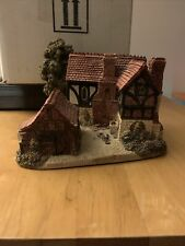 """Lilliput Lane """"Warwick Hall"""" Collectible Rare - Excellent Condition"""