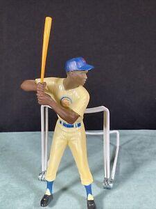 Vintage Ernie Banks Hartland Plastics Baseball Figurine w/ Bat Chicago Cubs
