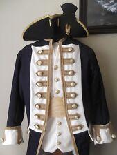 Custom Made 4pc.Colonial uniform coat vest shirt breeches