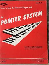 Pointer System Learn To Play Hammond Organ Vintage 1963