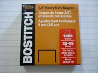 "Stanley Bostitch 3/8"" Heavy Duty Staples 9mm SB353/8-1M for 00540 03210 B310HDS"