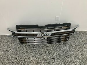 OEM 2019 2020 CHEVY SILVERADO HIGH COUNTRY W/CAMERA GRILLE PART NUMBER: 84493322