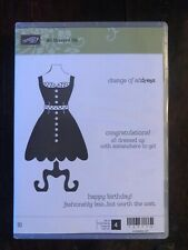 Stampin Up retired ALL DRESSED UP Stamps & DRESS UP Framelit Dies ~ Mother's day