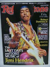 Rolling Stone Magazine Japan Edition 2010 Jimi Hendrix w/photo