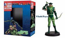 Eaglemoss DC Comic Superhero w/New Box Green Arrow Figurine #8 w/booklet