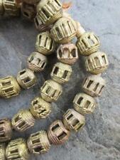 Beads [70898] African Tabular Brass
