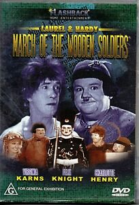 Laurel & Hardy - March of the Wooden Soldiers - DVD - B&W 1934 Film