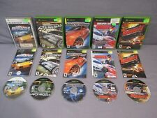 XBox  NEED FOR SPEED Most Wanted Underground BURNOUT 2 REVENGE Lot Microsoft