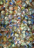 Bag of 100 Premium 12mm Cats Eye Peewee Marbles