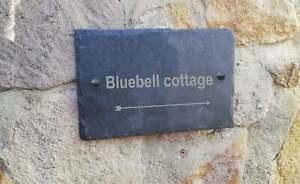 Slate House Sign - House Name