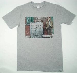 Laurel and Hardy Grey T-Shirt Size S-XXXL Retro Vintage slapstick comedy chaplin