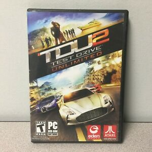 Test Drive Unlimited 2 for PC DVD-Rom by Atari - TDU2 - Eden Games - RARE