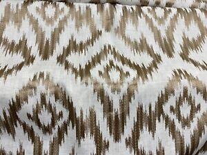 John Lewis Furnishing Fabric Amira Gold 3.8 Metres £32