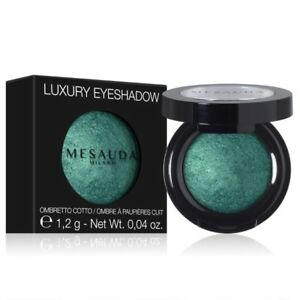 LUXURY EYESHADOW MESAUDA OCCHI OMBRETTO COTTO MET&DRY BRILLANTE
