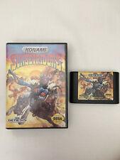 Sunset Riders (Sega Genesis, 1992) w/ box! Cleaned & tested!