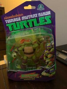 Nickelodeon Teenage Mutant Ninja Turtles Michelangelo Action Figure Playmates