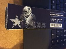 2015 DALLAS COWBOYS VS ATLANTA FALCONS TICKET STUB 9/27 NFL