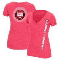 Reebok 2013 CrossFit F.E.F. Community Women's Pink Tri-Blend V-Neck T-Shirt