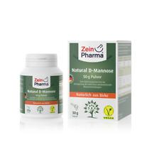 D-Mannose Pulver aus Birkenrinde Natural 50  D-Mannose Pulver  100% rein | Vegan