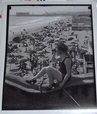 "Rare Vintage Santa Monica, California 16""x20"" Giclee ""Bathing Beauty"" Picture"