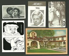 Mickey Rooney with Elizabeth Taylor and Gloria De Haven Fab Card Collection B