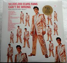 ♫ ELVIS PRESLEY 50M FANS CAN'T BE WRONG: GOLD V2 RCA SEALED LP 20th Anniversary