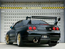 FRP TOP-SECRET REAR DIFFUSER UNDER VALANCE WITH FITTING KIT FOR NISSAN R33 GTR