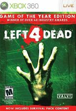 Left 4 Dead Game of the Year Edition [Xbox 360, NTSC, Zombies Survival Guns] NEW