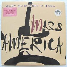 MARY MARGARET O'HARA -MISS AMERICA- ORIG 1988 VIRGIN PROMO LP HYPE PRESS KIT NM